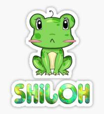 Shiloh Frog Sticker