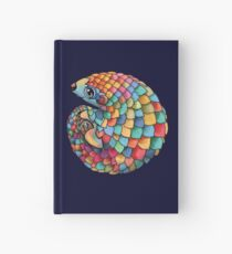 Rainbow Pangolin  Hardcover Journal