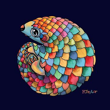 Rainbow Pangolin  by karin