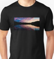 Purple sunset Unisex T-Shirt