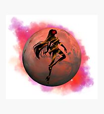 Sailor Mars Photographic Print