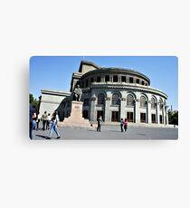 Opera House, Yerevan Canvas Print