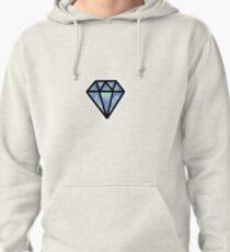Watercolor Diamond  Pullover Hoodie