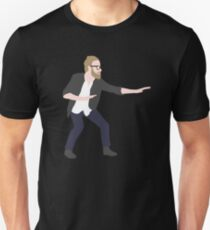 Pre-show Defensive Crouch - Matt Berninger - The National Unisex T-Shirt