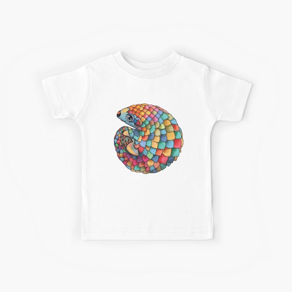 Rainbow Pangolin Kids T-Shirt