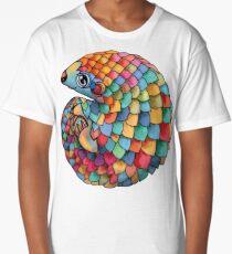 Rainbow Pangolin Long T-Shirt