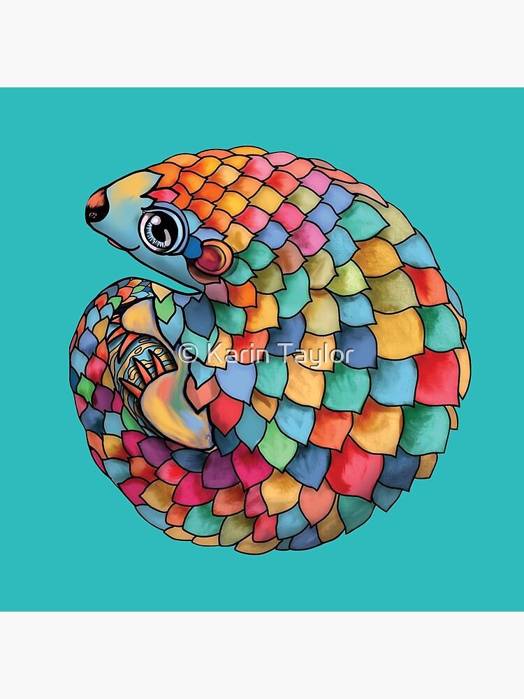 Rainbow Pangolin by karin