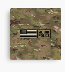 Military: Military Police Canvas Print