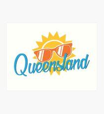 Queensland Flashback Art Print