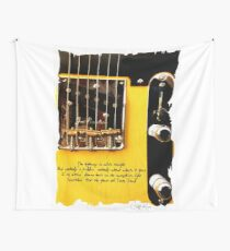 Springsteen Lyrics Tribute. The Ghost Of Tom Joad. Wall Tapestry