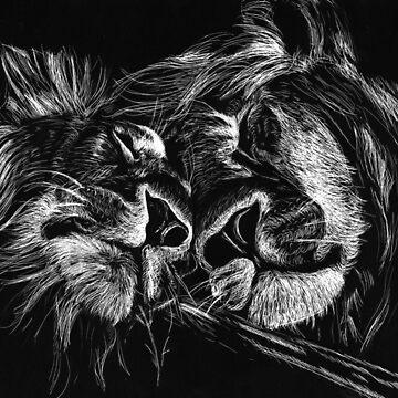 The Lions Sleep Tonight by lmayerdesign