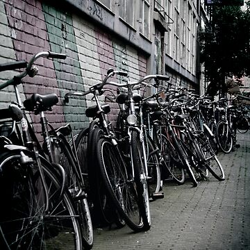 Amsterdam Bikes by heckmatic