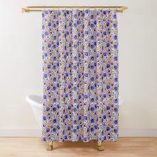 Stiefmütterchen Duschvorhang