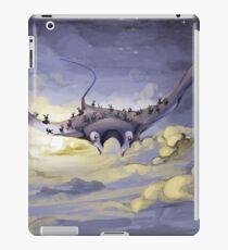 """Sky Ray and the Ants"" - Digital Mixed Media Painting iPad Case/Skin"