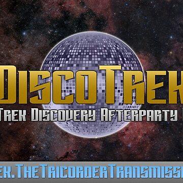 DiscoTrek Logo Design by ttt-pod