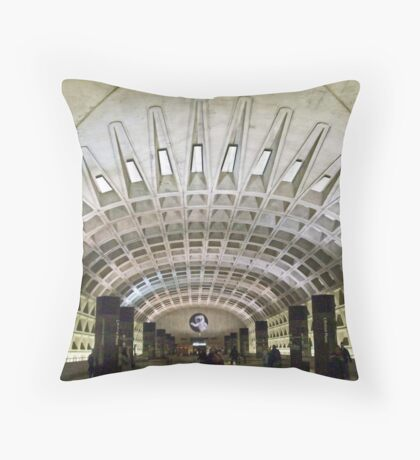 Metro Geometry Throw Pillow
