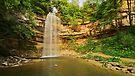 Saut Girard in Herisson waterfalls by Patrick Morand