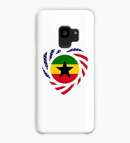 Ghanaian American Multinational Patriot Flag Series 2.0 Case/Skin for Samsung Galaxy
