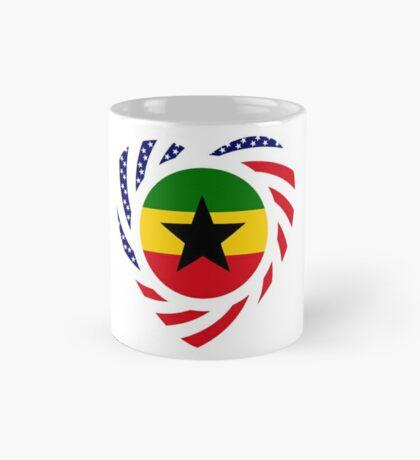 Ghanaian American Multinational Patriot Flag Series Mug