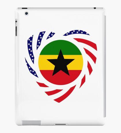 Ghanaian American Multinational Patriot Flag Series iPad Case/Skin