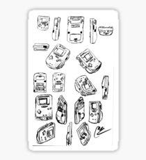 Retro Gaming Sticker