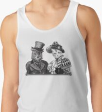 The Owl and the Pussycat | Black and White Tank Top