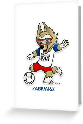 Russland 2018 Maskottchen Weltmeisterschaft ketan von bernardus8181