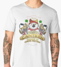 Monster Hunter Palico Cat Meowscular Chef  Men's Premium T-Shirt