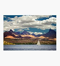 Sailing In Havasu Photographic Print