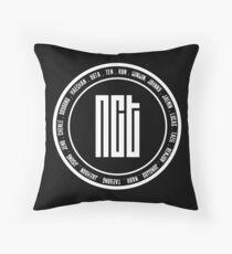 NCT OT18 member Throw Pillow