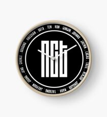 NCT OT18 member Clock