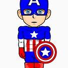 Manga style superhero by Framiq