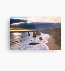 """The Twelve Apostles"" Sunset, Great Ocean Rd, Australia Metal Print"
