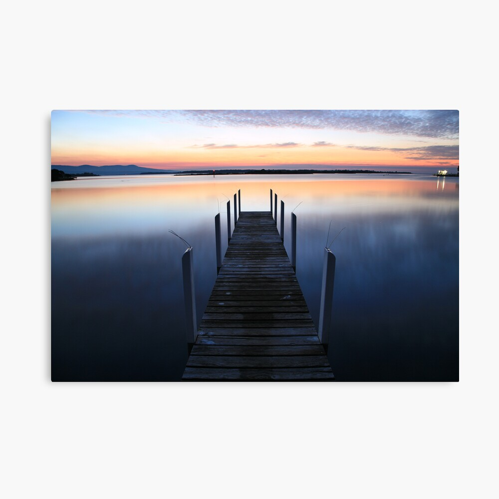 Fisherman's Paradise - Mallacoota before dawn, Australia Canvas Print