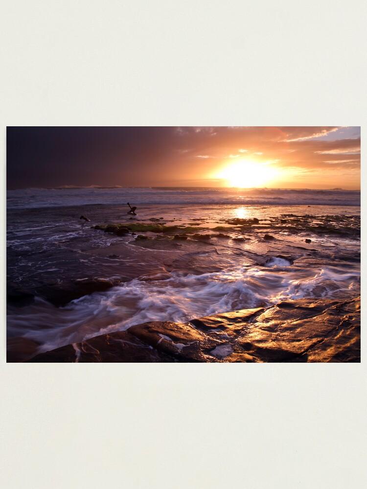 Alternate view of Marie Gabrielle Anchor, Shipwreck Coast, Australia Photographic Print