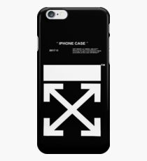black white off iPhone 6 Case