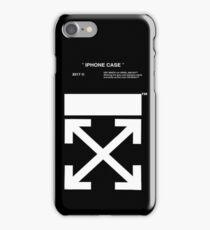 black white off iPhone 7 Case