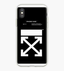 black white off iPhone Case