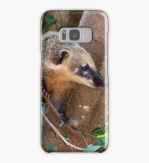 Coati on the tree Samsung Galaxy Case/Skin