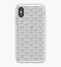 white goyard iPhone Case