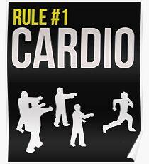 Rule #1 Cardio Poster