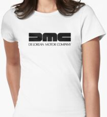 DMC - De Lorean motor Company Women's Fitted T-Shirt