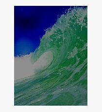 Rollin wave Photographic Print
