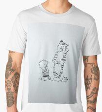 Calvin and Hobbes Men's Premium T-Shirt