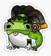 Frog-io! Sticker