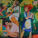 Music garden by Chicho Lorenzo