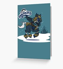 My Little Invincible  Greeting Card