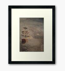 Magical Voyage Framed Print