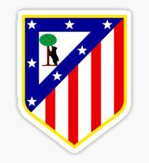 Atletico New Tshirt Sticker