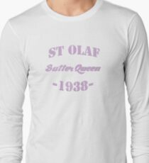 St Olaf Butter Queen Long Sleeve T-Shirt